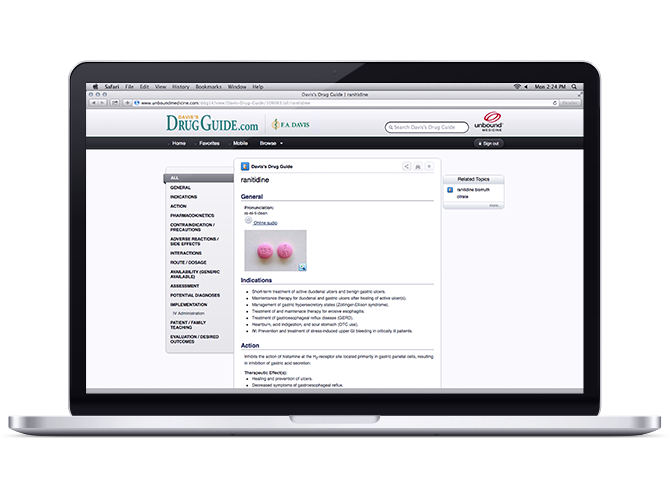 Davis Drug Guide Online